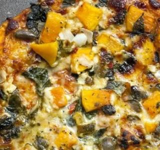 Pizza s máslovou dýní