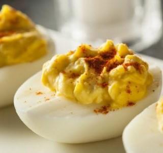 Plněná ďábelská vejce