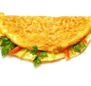 Plněné omelety