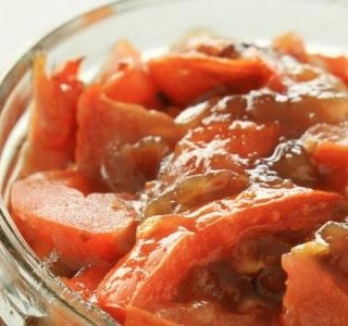 Podzimní rajčatové čatní