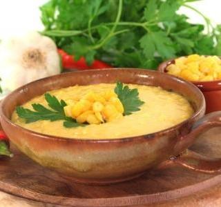 Polévka z kukuřice