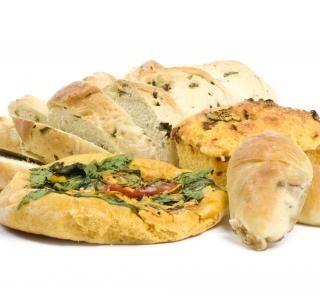 Pórek, mangold a kukuřičný chléb