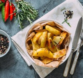 Rozmarýnové brambory na grilu