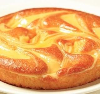 Rychlý piškotový dort s pudinkem