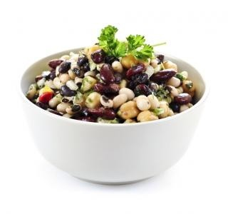 Rychlý fazolový salát