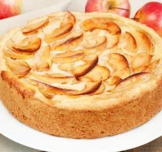Rychlý jablečný dort
