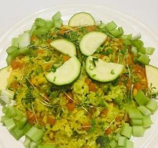 Rýže na kari se zeleninou