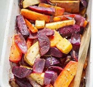 Salát z pečené zeleniny
