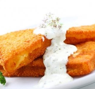 Smažené rybí filety s tatarskou omáčkou