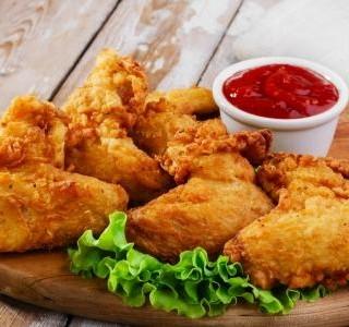 Smažené sýrové kuře