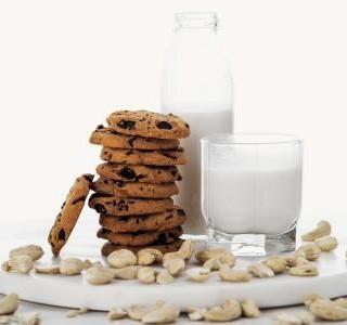 Sušenky s vanilkovou a kakaovou příchutí