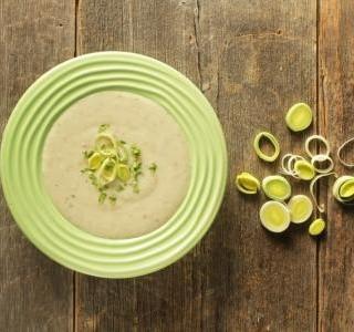 Sýrová polévka s pórkem