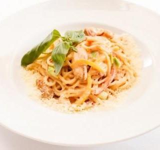 Těstoviny Linguine s krabím masem