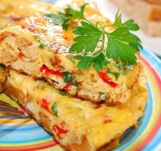 Vegetariánská frittata