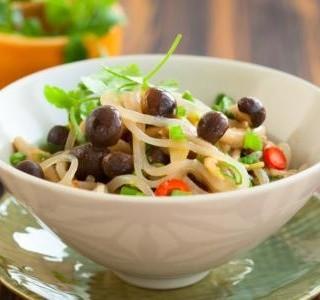 Zapečené těstoviny s houbami