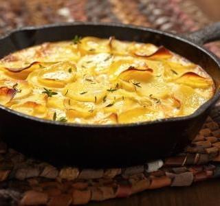 Zapečené brambory v troubě