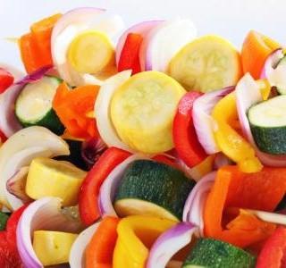 Zeleninové špízy