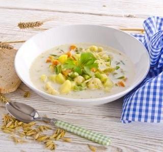 Zeleninová polévka s brambory