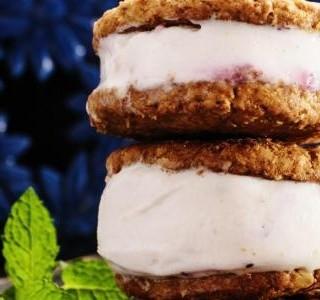 Zmrzlinový sendvič