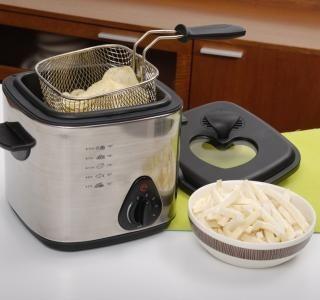 Domácí horkovzdušná fritéza – nezdravé zdravě