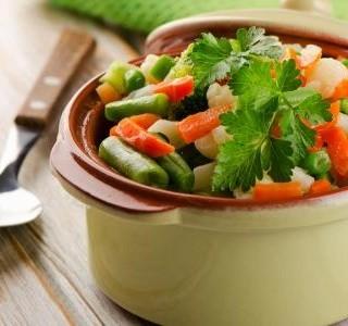 Jak na dušenou zeleninu