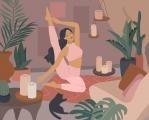 Namasté - pravidelná jóga pomůže proti bolestem zad i stresu...